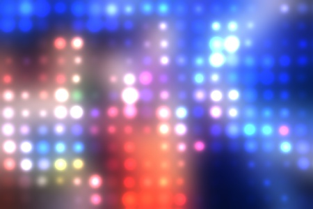 Dotted background of the colorful dots on the blured light Stock Photo - 10493815