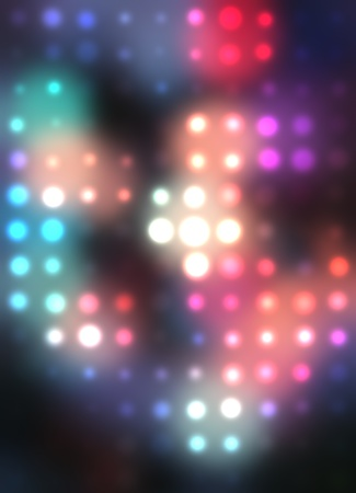 Dotted background of the colorful dots on the blured light Stock Photo - 10493750