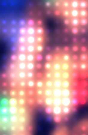 Dotted background of the colorful dots on the blured light Stock Photo - 10493756