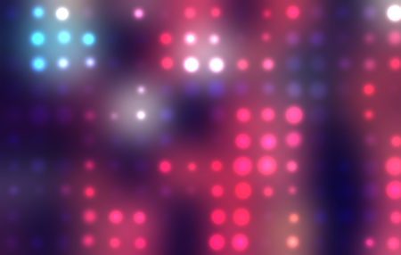 Dotted background of the colorful dots on the blured light Stock Photo - 10493751