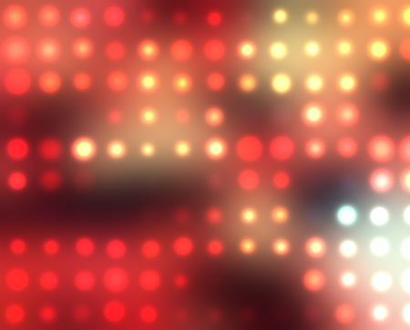 Dotted background of the colorful dots on the blured light Stock Photo - 10493754