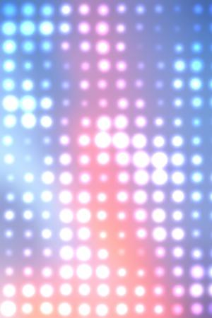 lumieres: lumi�res de No�l ; lumi�res color�es floues la nuit Banque d'images