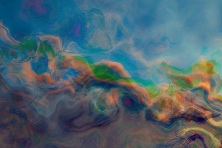 abstract painted background of watercolour blending photo