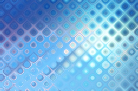 abstract dotted background blue bokeh circles and blur photo