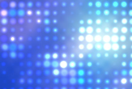 doted: colorful background illustration of colored dots and blur Stock Photo