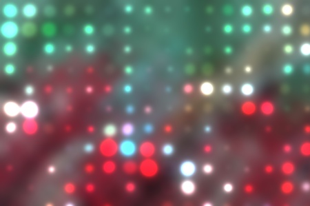 colorful background illustration of colored dots and blur illustration