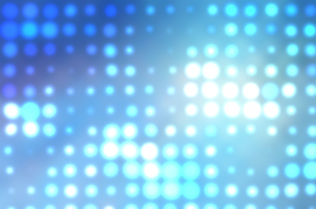 abstract dotted background blue bokeh circles and blur Stock Photo - 10614503
