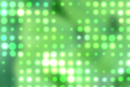 Background with out of focus light dots in green Stock Photo - 10614549