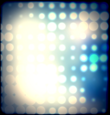 blurred spots and colorful dots out of focus background photo