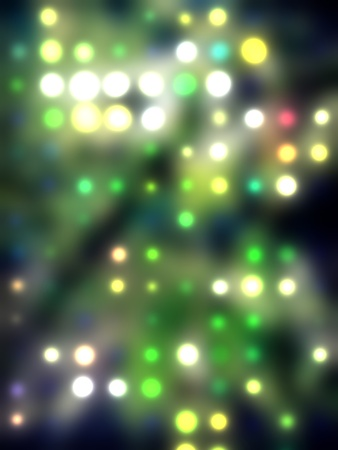 grungy dotted blurred background of colored lights Stock Photo - 11278071