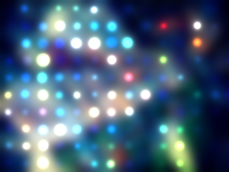 grungy dotted blurred background of colored lights Stock Photo - 11278062