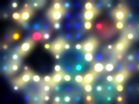 grungy dotted blurred background of colored lights Stock Photo - 11278039