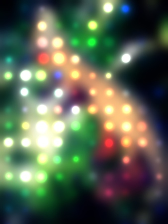 grungy dotted blurred background of colored lights Stock Photo - 11278055