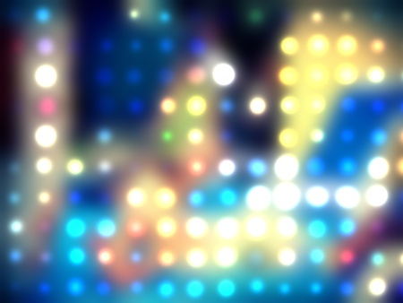grungy dotted blurred background of colored lights Stock Photo - 11278038