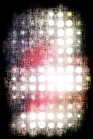 Fond avec les cercles colorés grungy Banque d'images - 11761337
