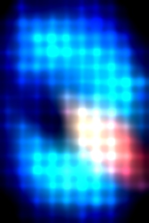 smother: abstract lines and dots colorful background Stock Photo