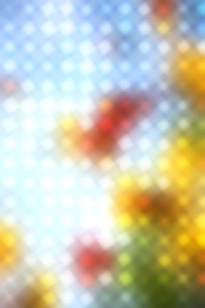Punteó el fondo de los puntos de colores en la luz blured Foto de archivo - 11983608