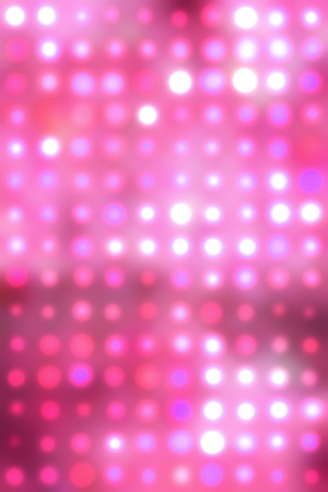 pink and yellow lights over pink background photo