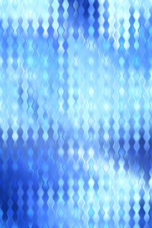 blue stained distorsed glass pattern art background photo