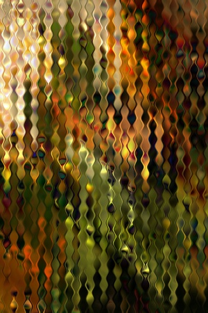 green stained distorsed glass pattern art background photo