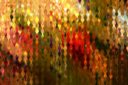 Multicolored stained distorsed glass pattern art background