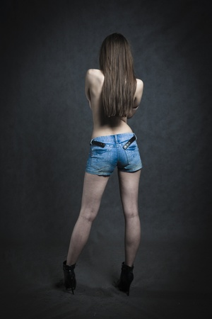 Beautiful Back Female photo