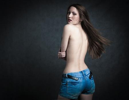 Beautiful Bare Back Female photo