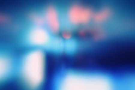 Shimmering blur background with shining lights photo