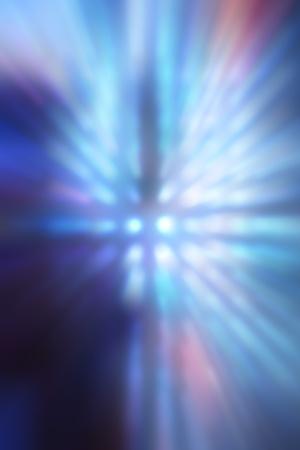 Decorative christmas background - defocused reflection of lights. Stock Photo - 12742012