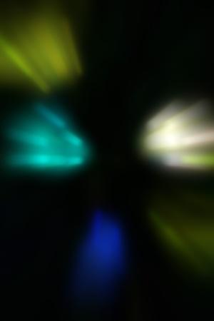 illustration of blurred neon disco light dots pattern on dark background Stock Illustration - 12742251