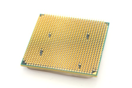 Modern multicore CPU photo