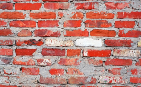 obsolete brick wall texture pattern photo