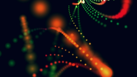Defocused light dots abstract background Stock Photo - 14058594