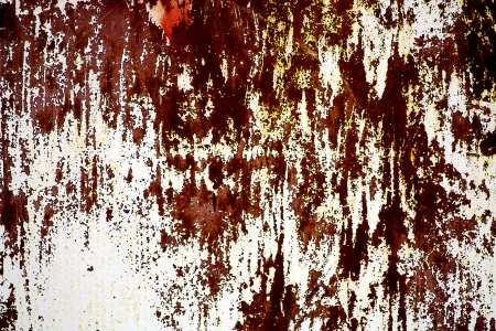 scratched metal plate Stock Photo - 14059035