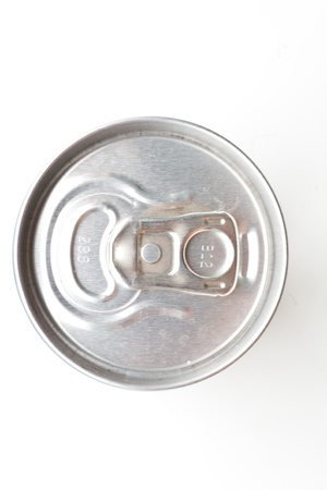 This is Aluminum can isolated on white background Stock Photo - 14184631