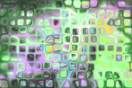 colorful background illustration of colored dots and blur Stock Illustration - 16049166