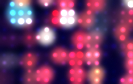 Abstract spots of lights Vector
