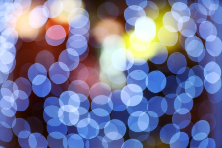 Nice blue Bokeh style, which is great for wallpaper or background for web use  photo
