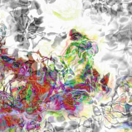 Abstract artistic Background forming by blots of paints Stock Photo - 17372103