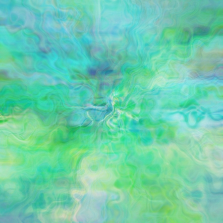 art background digitally-painted in green color