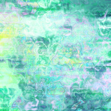 azure: Elegant abstract background in green and azure colors. Raster design