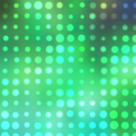 green bokeh abstract light background. Raster illustration illustration