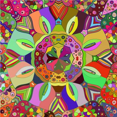 realización: Ornamental round lace pattern, c�rculo de fondo, tejiendo encajes hechos a mano, encaje dise�os arabescos. Motivo oriental ornamento tradicional en la realizaci�n moderna