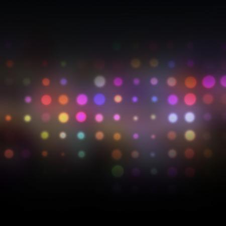 Christmas blurred lights background. Raster Illustration. Stock Illustration - 18163249