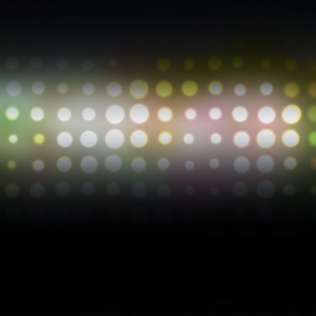 bokeh abstract light background. Raster illustration Stock Illustration - 18163304