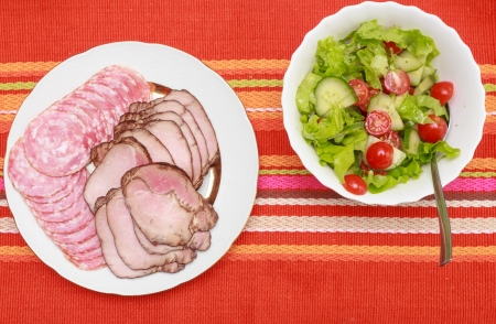 Close up of roasted sliced pork meat Stock Photo - 18322437