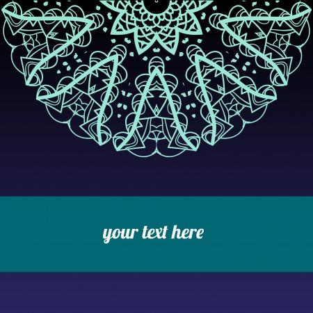 realización: Ornamental round lace pattern medio, c�rculo de fondo, encaje hecho a mano de ganchillo, de encaje con motivos arabescos oriental ornamento tradicional en la realizaci�n moderna