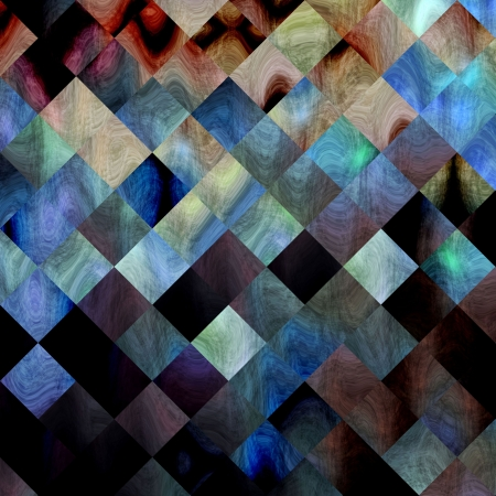 background paper Textures and Backgrounds grungy squares mixed colors. Wallpaper background or backdrop for different types of design Stock Photo - 18503535