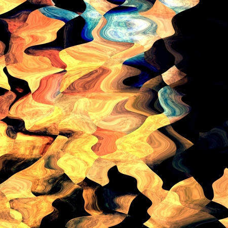 Waves colored. Abstract background colored spots of light mixed in grunge surface Stock Photo - 18525341