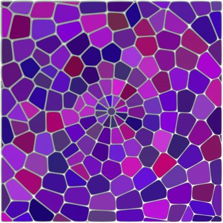 fibra ottica: Vector senza soluzione di continuit� cracking modello multi colorato in rosso e rosa